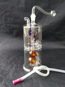 Flores de alta qualidade no pote de spray de água de cabaça, Atacado Bongos De Vidro Acessórios, Tubulação De Água de Vidro Fumar, Frete Grátis