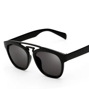 10 pcs Cheap PC Polarized Sunglasses For Men Women Round Plank Wholesale New Arrival 2017 Retro Designer Sun glasses UV400 With Bag