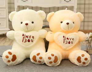 Giant Big Plush Teddy Bear Soft Gift per San Valentino Compleanno farcito Teddy Bear Giant Cute