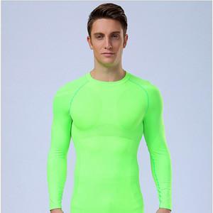 Chemise sport unie pour hommes, vêtements confortables et respirants à séchage rapide pour le fitness, respirants, hommes et femmes en Europe et en Amérique du fitness