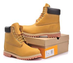 도매 무료 배송 겨울 눈 부츠 브랜드 남자 정품 가죽 방수 야외 부츠 암소 가죽 하이킹 신발 레저 발목 부츠
