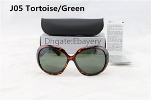 5 unids 2017 Marca Señoras Gafas de Sol Mujeres Playa Sunglass Plástico Femenino Sun Glass UV400 protección Con Caja, Estuche, Tela 6 Colores Seleccione