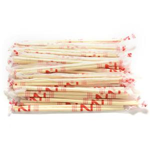 Toptan-Çanta Çin Yüksek Kalite Chopsticks Tek Bambu Ahşap Chopsticks Hashi Bireysel Sarılmış 40 Çiftleri