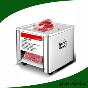 Полная машина slicer мяса нержавеющей стали Slicer мяса полноавтоматический электрический автомат для резки мяса говядины 150-200kg/h