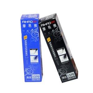 Eco-Friendly 1370 0.5mm effaçable Pen Gel Recharges Bleu Noir foncé -Blue Rouge Bureau encre école Papeterie 20Pcs / Lot