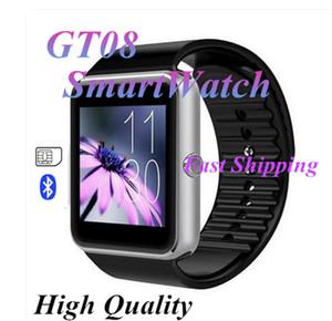 VS DZ09 높은 품질을 모니터링 안드로이드 IOS 지원 SIM / TF 카드 카메라 보수계 잠자리를 위해 GT08 스마트 시계 전화 손목 착용