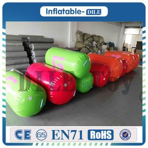 Freies verschiffen 60 cm diamete aufblasbare gymnastik luftmatratze / barrel, aufblasbare luftspur der luftgymnastikausrüstung / rolle für eins