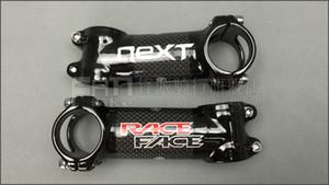 RACE FACE próxima liga ultra-leve e de fibra de carbono bicicleta de estrada montanha mountain bike guidão haste 31.8 * 60 70 80 90 100 110 120mm ângulo 6