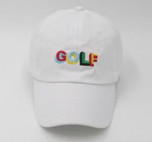 Tyler The Creator Golf Sombrero bordado Drake sombreros strapback ajustable Dad cap