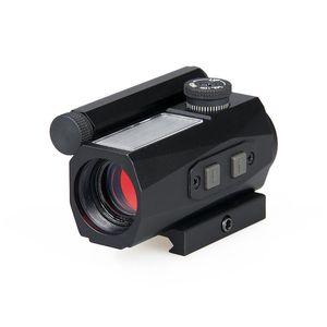 Canis Latrans Tactical 1x20 Red Dot Scope Aleación de aluminio con Red Dot 2MOA para el envío libre al aire libre CL2-0104