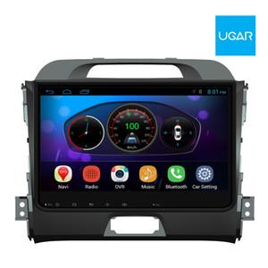 9 بوصة KIA Sportage R 2011-15 رباعي النواة 1024 * 600 نظام تحديد المواقع العالمي (GPS) للملاحة بنظام Android وراديو الوسائط المتعددة راديو Wifi