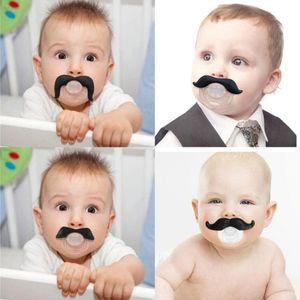 bébé suce drôle suce dents mignon bébé fille Mustache nourrisson Pacifier orthodontiques Mannequin Barbe Nipples Sucettes sûre Livraison gratuite