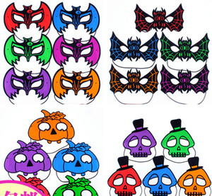 Bat Pumpkin Human skeleton masks for halloween party Children or adult Holiday Party mask 18G cosplay Festive & Party Supplies