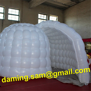 Inflatable advertising tent Led lighting inflatable indoor tent wedding photo enclosure, inflatable led photobooth cube tent