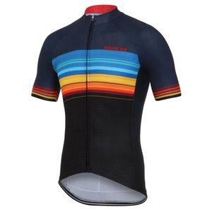 Özelleştirilmiş YENI Sıcak 2017 JIASHUO RENKLER LINES Klasik mtb yol YARıŞ Takım Bisiklet Pro Cycling Jersey / Gömlek Tops Giyim Solunum Hava