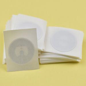 Disponibile!! 100 pz / lotto 25mm rotondo Epaper rfid etichetta adesiva tag13.56 MHz ISO1443A NTAG215 NFC Sticker per tutti i telefoni abilitati NFC