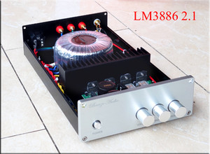 Freeshipping Audio Wind LM3886 BA1 2.1 channel subwoofer bass home audio amplifier