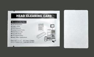 100 adet kredi kartı MSR kafa temizleyici Temizleme kartı manyetik Şerit Okuyucu yeni