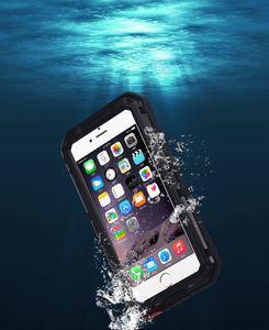 IPhone 7 için Konut Su Geçirmez Kılıf Darbeye Dayanıklı Kir geçirmez Koruyucu kapak, iPhone 7 için kar geçirmez Cep Telefonu Kılıfları artı 6 6 s artı