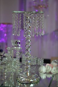 Free Shipping wedding table centerpieces Crystal Chandeliers Wedding Decoration 23.62inch Height