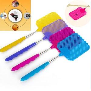 Große nützliche hochwertige Handheld elektronische Moskito Bug Zapper Fly Swatter Racket zufällige Farbe
