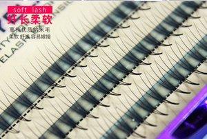 Профессиональный ресниц одного кластера растений прививки посадки накладные ресницы цветы волосы естественный вид мягкие 3