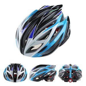 Catazer 2017 Fashion Outdoor Gear Cycling Helmet 21 Holes Yellow Green Blue Orange Red Silver Colors Bicycle Helmet For Sale