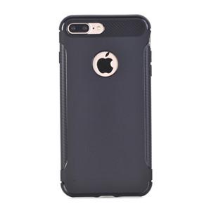 Esnek tpu slim-fit yumuşak dokunmatik esnek en ince ultra case kapak için apple iphone 6 6 s 7 artı / samsung galaxy s8 artı koruyucu kabuk