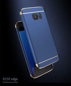 Cas de téléphone de luxe 3 en 1 couverture de téléphone pour Iphone X Iphone 8 8plus I7 I 7 Plus Samsung S8 S8 Plus S7 Edge