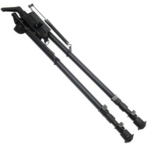 13-27 Inch Swivel Tactical Pivot Rifle Bipod Long Range shooting with Built-in Podlock