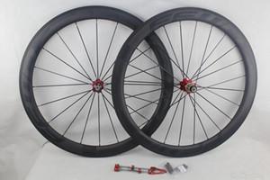 autocollants noir FFWD avance rapide F5R complète des roues de bicyclette de carbone surface frein 50 mm basaltique pneu vélo tubulaire route UD mat roues