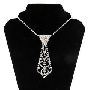 2017 collana di cravatta composita diamante sexy collana di pancia catena girocolli in lega di strass cravatta e cintura lady online 3pcs spedizione gratuita