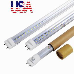 4FT T8 Led Tubes Light Double Rows 192pcs SMD2835 28W Led Light Lamp Bulb 4 feet 1.2m led lighting fluorescent tube AC 110-240V