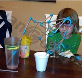 Drôle 3D Silicone Tube à boire bricolage pailles ensemble faire construire votre propre Funky Art Drinking paille anniversaire mariage Bar Club Pool Party fournitures