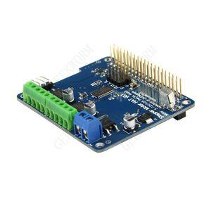 Freeshipping Raspberry Pi 3 Motor HAT 전체 기능 로봇 확장 보드 지원 Raspberry Pi 3 / 2B / B + (스테퍼 / 모터 / 서보 / IR 리모컨)