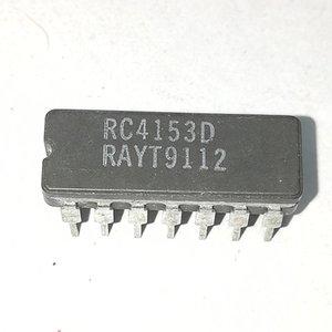 RC4153D. RC4153DC. RM4153 / Circuits intégrés de circuits intégrés à convertisseur de tension en fréquence, CDIP14, boîtier en céramique double 14 broches en ligne