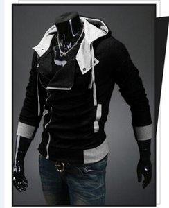 Creed Men Sale Assassins Großhandel-Hot Reißverschluss Trainingsanzug Design Hoodie Sweatshirt Marke Männer Größe M-6XL JBPAR