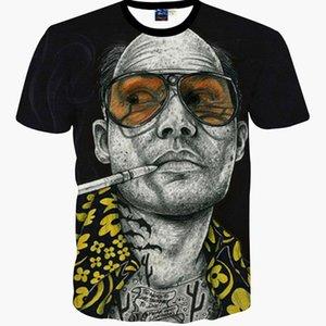 Atacado- Nova Moda Breaking Bad Impressão Abstrato T-shirt Dos Homens Casuais T Camisas 3D Harajuku Tees Homem Heisenberg Camisas Roupas de Verão