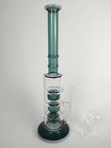 H: 31 CM, D: 5 CM, 14 MM bong olio di vetro joint rig, tubo di acqua di vetro
