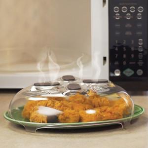 30 * 8.5cm magnetischer Mikrowellensplatterdeckel mit Dampflöchern | Spülmaschinenfest BPA Hover Cover Guard Deckel HH7-32