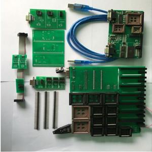 Upa adaptadores completos tms y nec adaptador eeprom adaptador eeprom board con 8 clips de soic y eeprom cable paquete completo