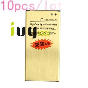 10pcs lot 3850mAh EB-BJ710CBC Gold Replacement Battery For 2016 Edition Samsung Galaxy J7 J7108 J7109 SM-J708 J7008 J7009 J700F Batteries