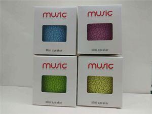 Мини-портативный Crackle Texture Bluetooth Wireless Speaker со светодиодной подсветкой U-образный TF-плеер для мобильного телефона с розничной коробкой