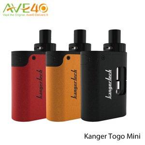 Kanger Togo Mini Starter Kit 1600mAh avec réservoir de capacité 3.8ml UTILISEZ des bobines CLOCC
