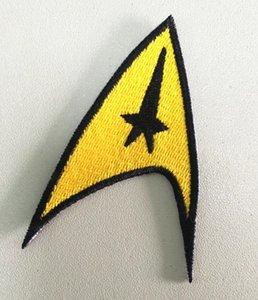 MOVIE STAR TREK AMERICAN الخيال العلمي تطريز حديد على رقعة شارة شحن مجاني خيط على حقيبة جلدية أو سترة قبعة