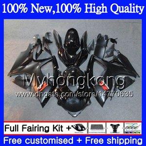 Noir brillant corps moto pour SUZUKI GSX R600 K6 GSXR750 GSXR 600 06 07 05MY21 GSXR600 GSXR750 06 07 GSXR 750 GSXR600 2006 2007 Carénage