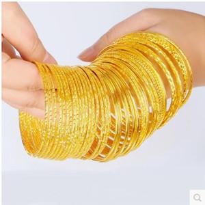 Pulsera bañada en oro de 18 ks. Pulsera elegante de verano. Colección Nadine Krakov.