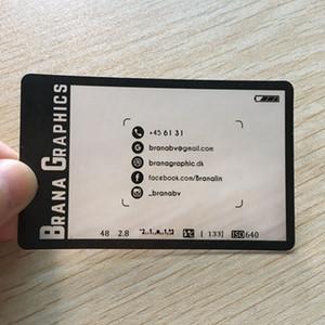 200pcs / one Design für Visitenkarte ID-Karte Fabrik benutzerdefinierte für Hartpapier transparent PVC-Kunststoff-Karte