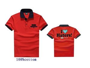 Мошенники и замки DGK Поло футболка 808 хлопок мужчины повседневная с коротким рукавом печати crewneck мужская футболка