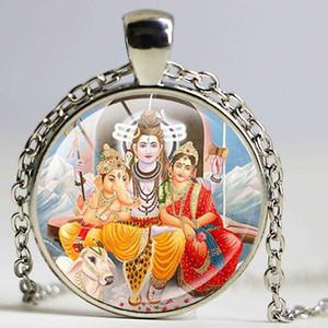Vintage Ganesha Statue Halskette Hindu Ganapati Vinayaka Gott Halskette Vintage Lord Ganesha indischen Buddhismus Schmuck für Frauen